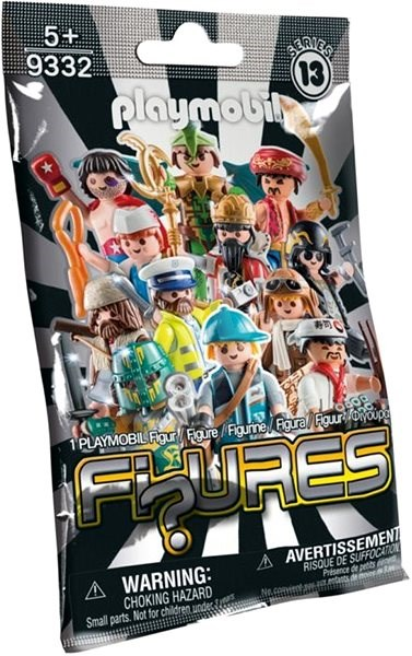 Boy Figures - Series 13 - Building Kit