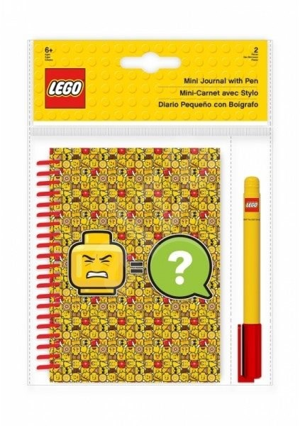 LEGO Iconic Mini Notebook with Pen - Notebook