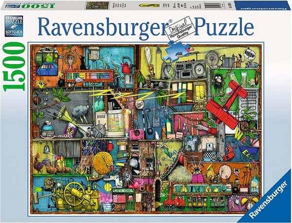 Ravensburger Cling Clang Clatter - Puzzle