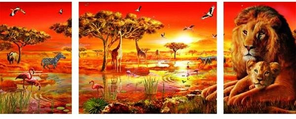 Ravensburger 198368 African Majesty - Puzzle