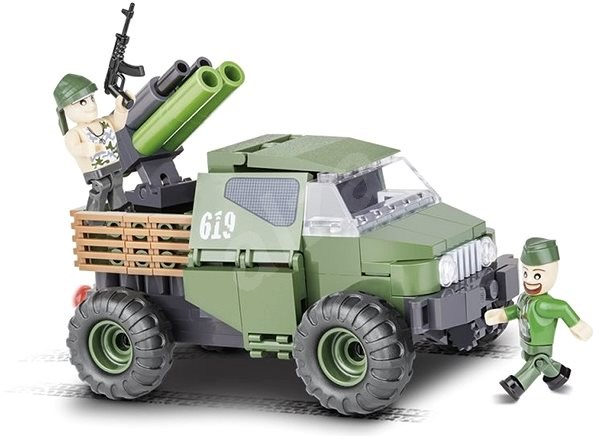 Cobi 2160 Small Army 4WD Armoured Pickup Truck - Building Kit