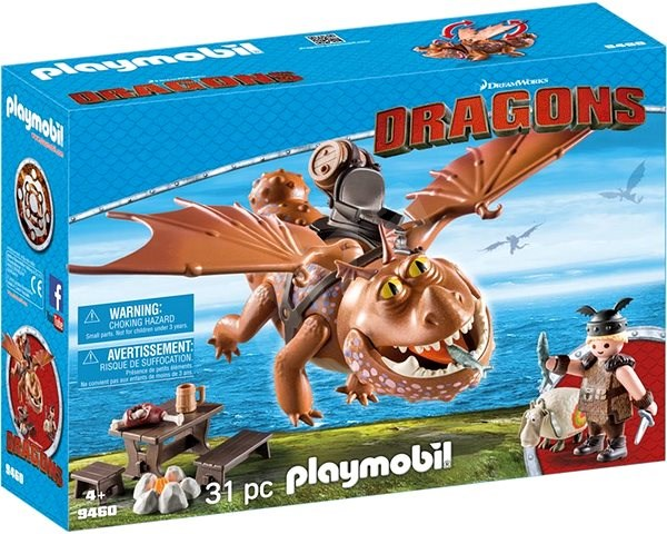 Playmobil 9460 Fish Legs and Meat Lug - Building Kit