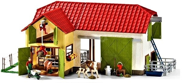 Schleich 42333 Large Farm with Animals and Attractions - Game set
