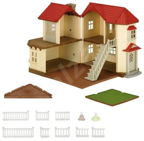 Sylvanian Families City House with Lights Gift Set H - Game set