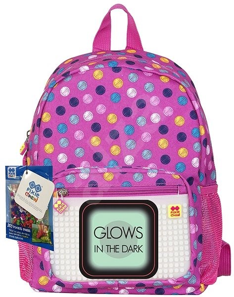 Pixie coloured dots (glow in the dark) - Children's backpack