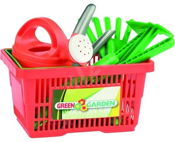 Androni Gardening Tools in a Basket - Game Set