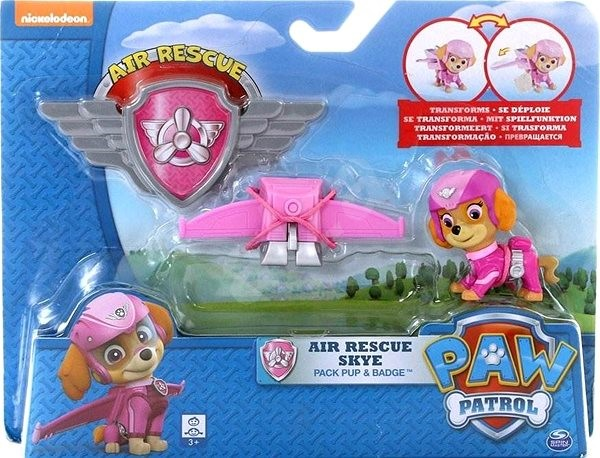 PAW Patrol Figure with Aircraft Accessories Skye - Figure