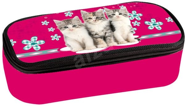 Etue with the Cats flap - Pencil Case