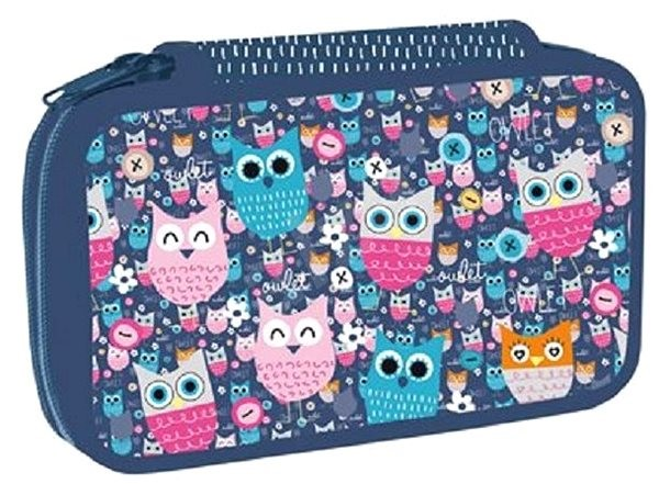 Two-layer Owlet - Pencil Case