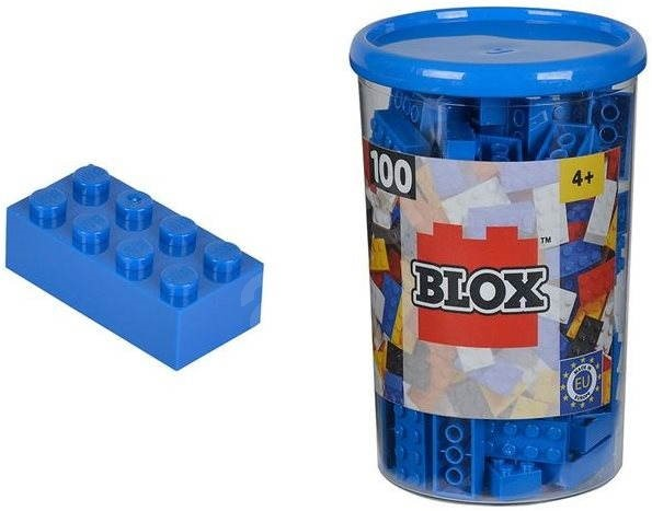 Simba Blox 100 Blue balls in the box - Building Kit
