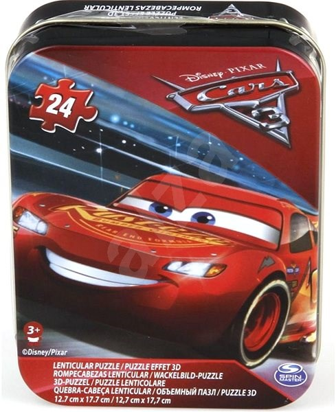 Cars 3 in a tin box - Puzzle