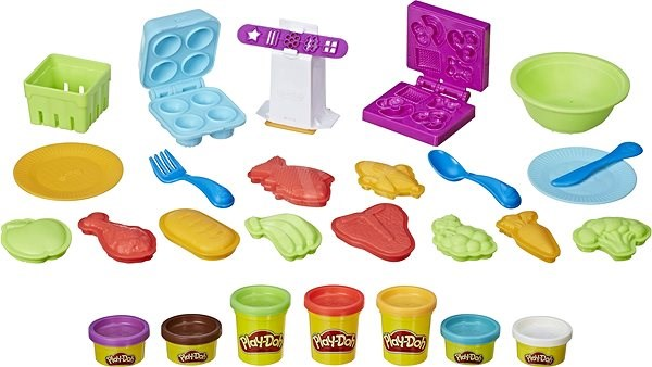 Play-Doh Food Production Set - Creative Kit