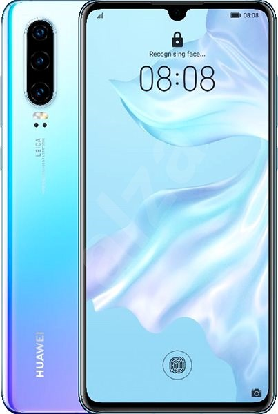 HUAWEI P30 gradient white - Mobile Phone