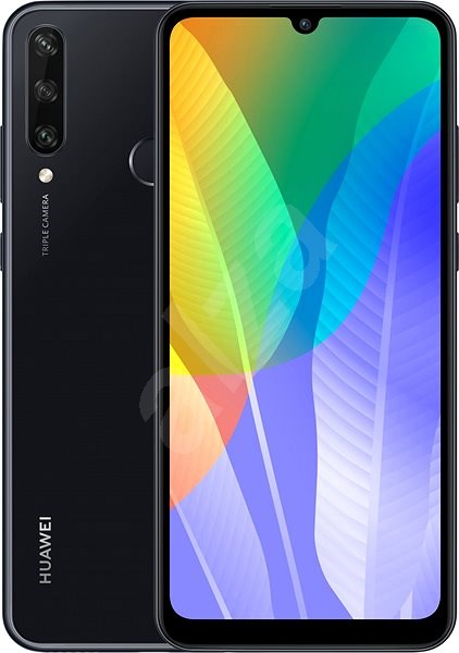Huawei Y6p Black - Mobile Phone