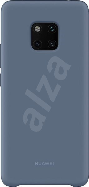 Huawei Original Silicone Light Blue for Mate 20 Pro - Mobile Case