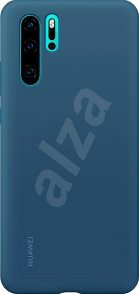 Huawei Original Silicone Case Blue for P30 Pro - Mobile Case