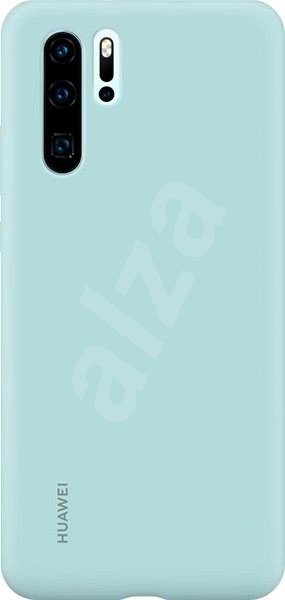 Huawei Original Silicone Light Blue Case for P30 Pro - Mobile Case