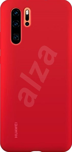 Huawei Original Silicone Case Red for P30 Pro - Mobile Case