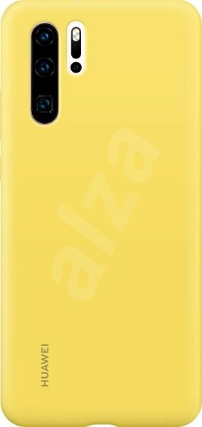Huawei Original Silicone Case Yellow for P30 Pro - Mobile Case