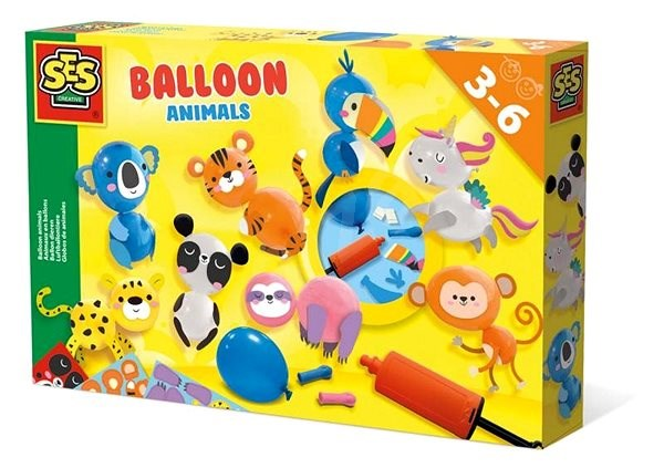 SES Manufacture of balloons from inflatable balloons - Creative Kit