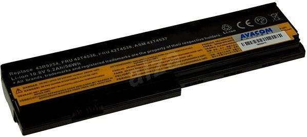 AVACOM for Lenovo X200 Series Li-ion 11.1V 5200mAh/56Wh - Laptop Battery