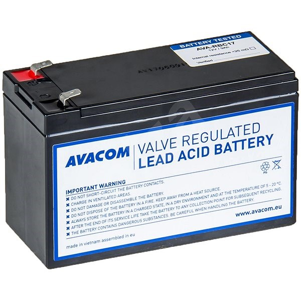 AVACOM RBC17 - replacement for APC - Rechargeable Battery