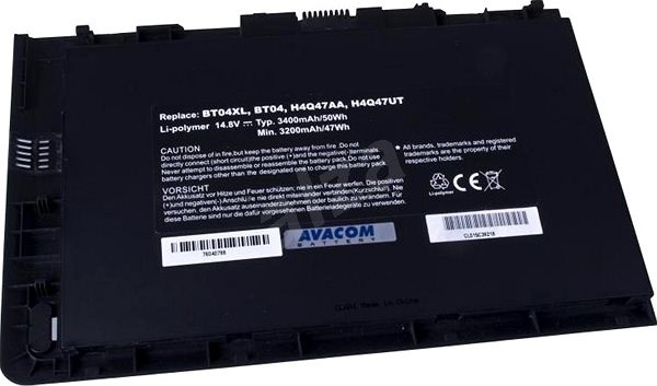 AVACOM for HP EliteBook 9470m Li-Pol 14.8V 3400mAh/50Wh - Laptop Battery
