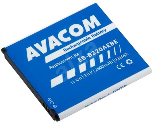 AVACOM for Samsung Grand 2 Li-Ion 3.8V 2600mAh, (replacement for EB-B220AEBE) - Mobile Phone Battery