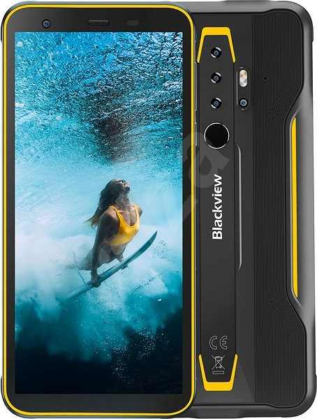 Blackview GBV6300 Pro, Yellow - Mobile Phone