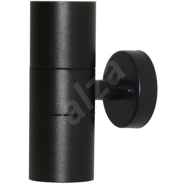 Immax NEO PARED Smart  Spot Ceiling and Wall Lamp Outdoor, Black, 2x GU10 16mil.colour, Zigbe - Light