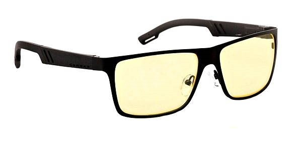 GUNNAR Office Collection Vinyl, onyx/yellow  - Glasses