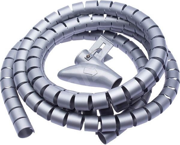 CONNECT IT CableFit WINDER, Grey, 2.5m - Cable Organiser