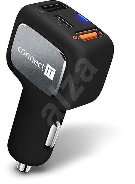 CONNECT IT InCarz QUICK CHARGE 3.0 - Car Charger