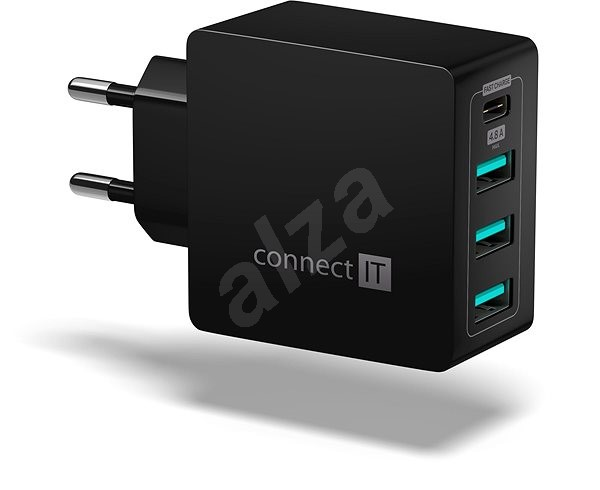 CONNECT IT Fast Charge CWC-4060-BK black - Charger