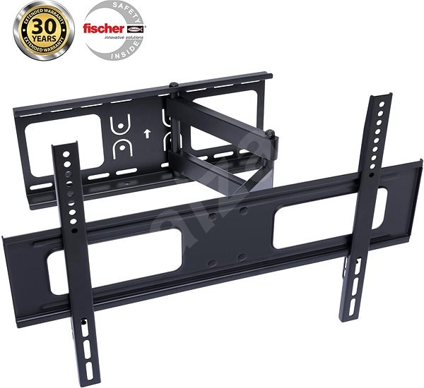 CONNECT IT T3 Black - TV Stand