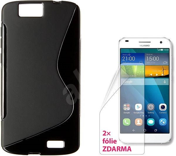 on sale 47c6f 41a8d CONNECT IT S-Cover Huawei G7 black - Mobile Phone Case | Alza ...