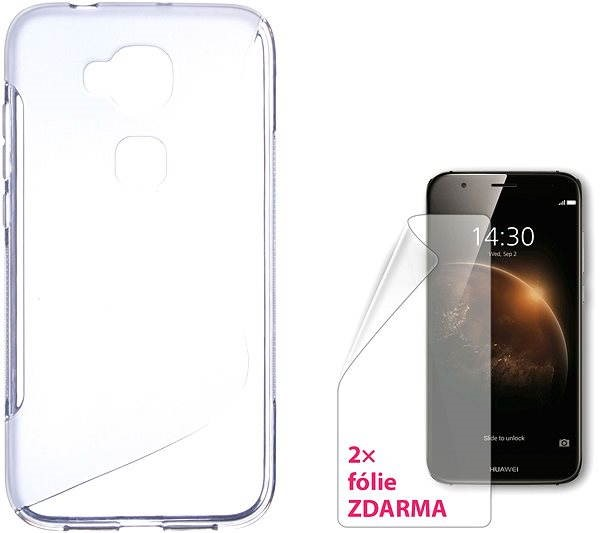 CONNECT IT S-Cover HUAWEI G8 clear - Mobile Phone