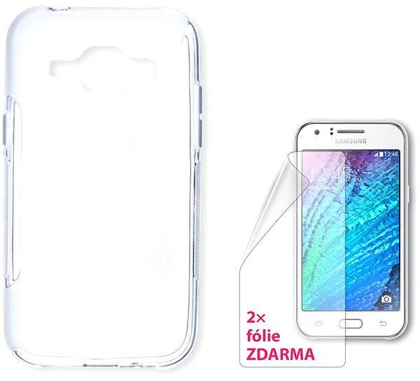 CONNECT IT S-Cover Samsung Galaxy J1 / J1 Duos clear - Mobile Phone Case