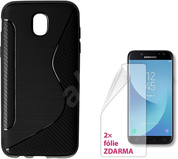ab7fe875747 CONNECT IT S-COVER for Samsung Galaxy J5 (2017, SM-J530F) black