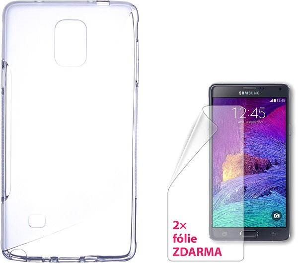 best website d47b5 5912b CONNECT IT S-Cover Samsung Galaxy Note 4 clear - Mobile Phone ...