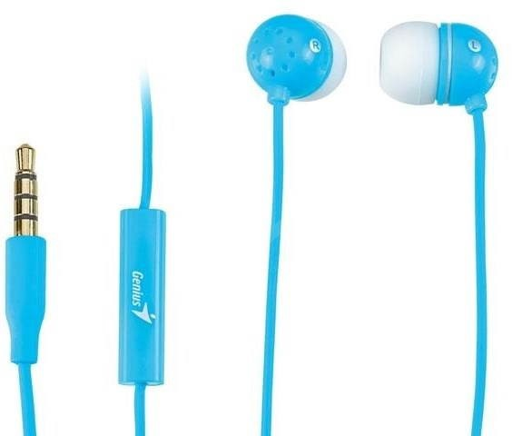 Genius HS-M210 blue  - Headphones with Mic
