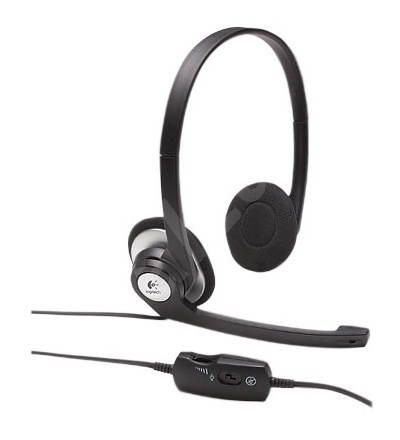 Logitech Internet ClearChat Stereo - Headphones with Mic