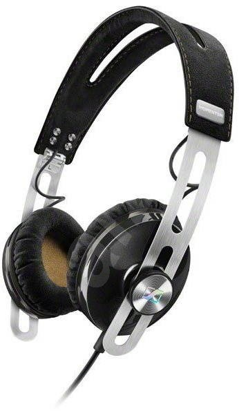 Sennheiser MOMENTUM On-Ear M2 OEG Black - Headphones with Mic