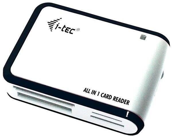 i-TEC USB 2.0 All-in One reader black and white - Card Reader
