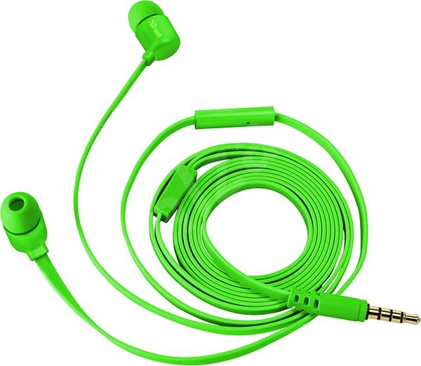 Trust Duga In-Ear Headphones neon green - Earbuds