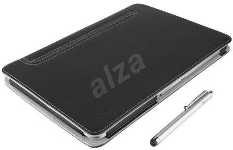 Trust Eliga Folio Stand & Stylus - Black - Tablet Case