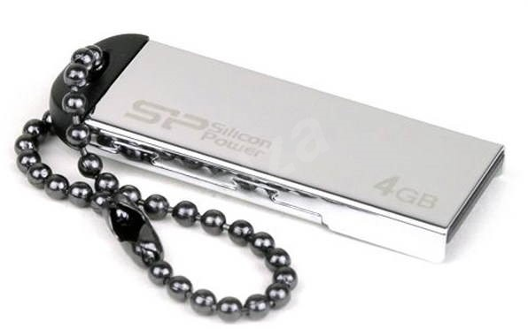 Silicon Power Touch 830 Metalic 4GB - USB Flash Drive