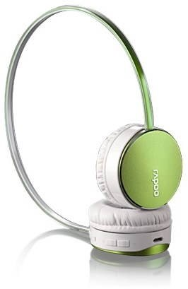 Rapoo S500 Green - Headphones with Mic