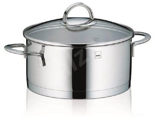 Kela CAILIN 3l Stainless Steel Saucepan with Glass Lid - Pot
