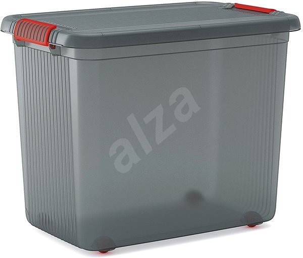 The KIS Latch Box XXL - 69l grey - Storage Box